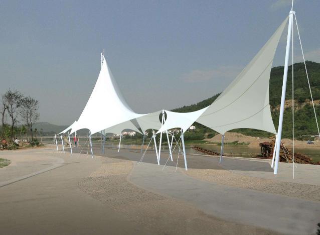 吐鲁番景观膜结构