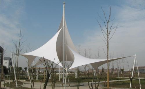 膜结构景观岗亭
