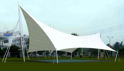 膜结构景观雨棚