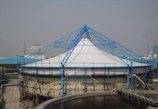 吕梁膜结构污水池