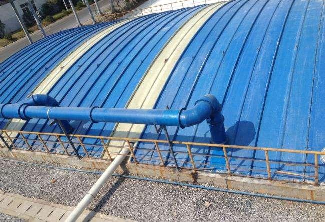 污水池防臭加盖