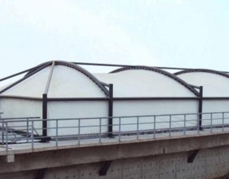 运城膜结构污水池
