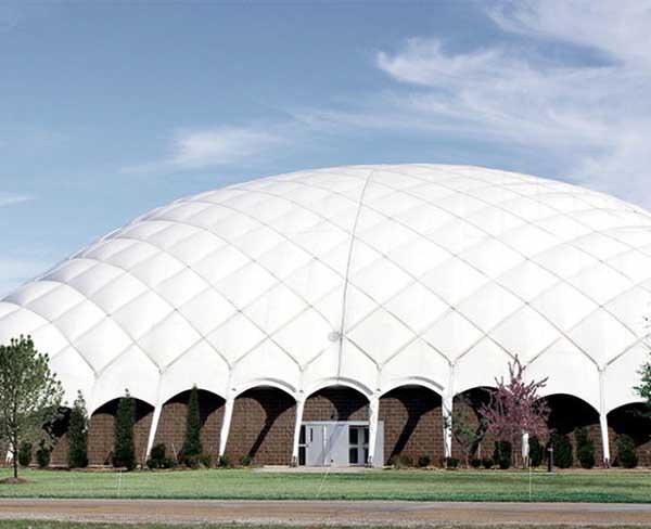 晋城充气膜体育馆在哪些方面体现其自身的节能性呢?