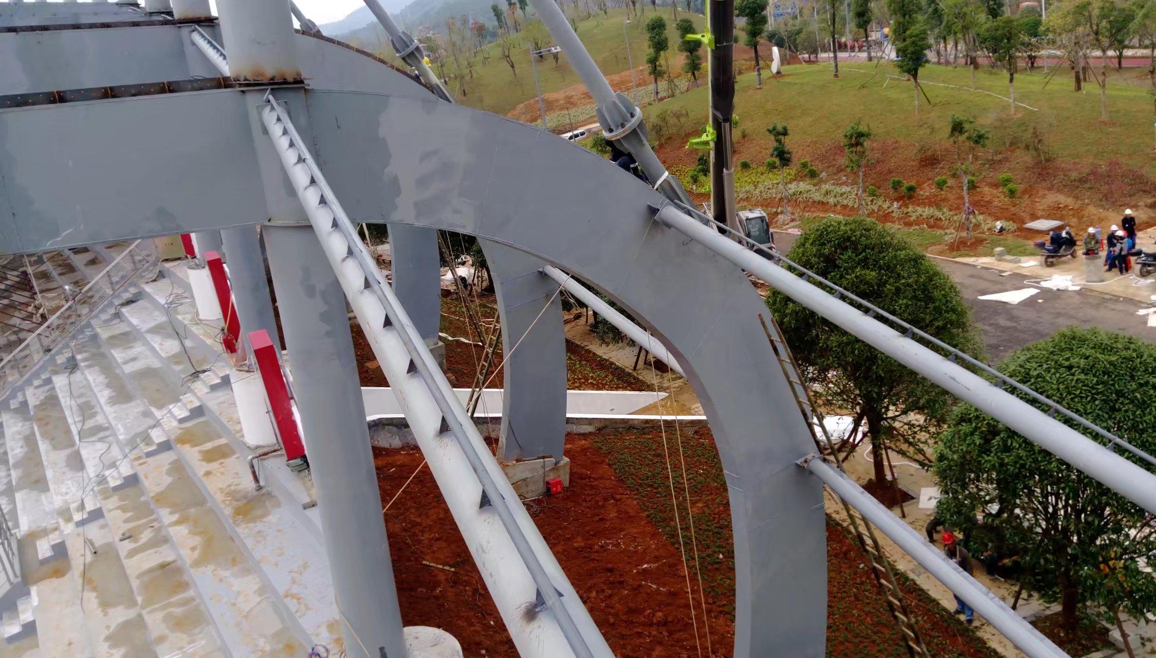 贺州市学校看台膜结构