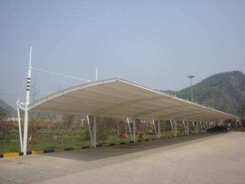 为大家讲解膜结构停车棚结构形式有几种?