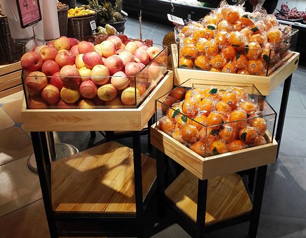 福建超市果蔬货架