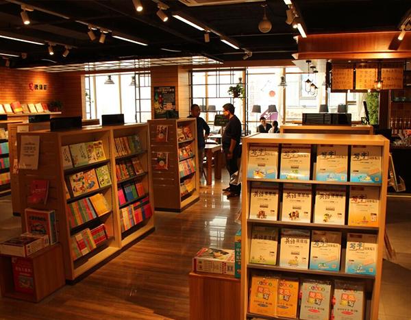福建文具书店货架