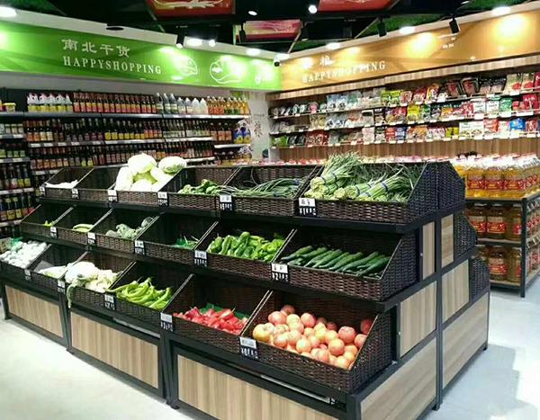 福州水果柜台货架