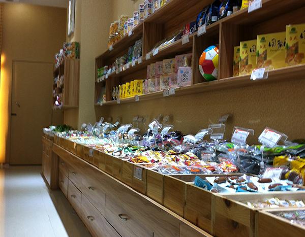 福州食品柜台货架