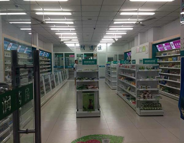 福州双面药店货架