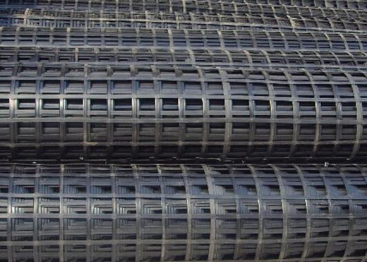 单向钢塑土工格栅