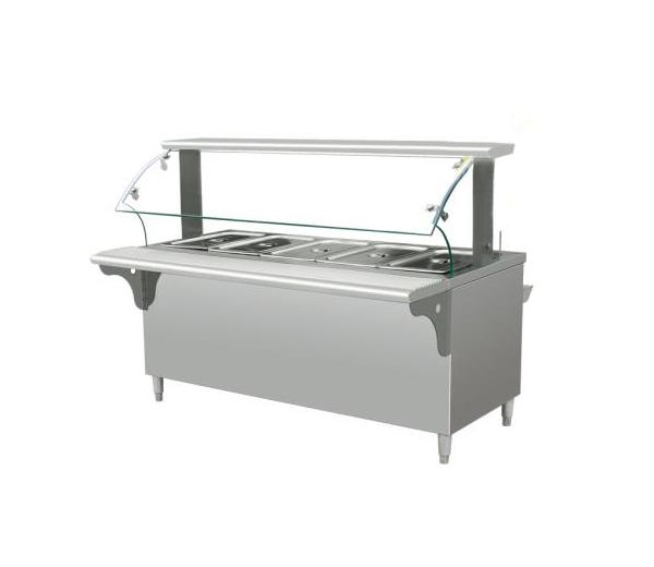 不锈钢快餐保温台