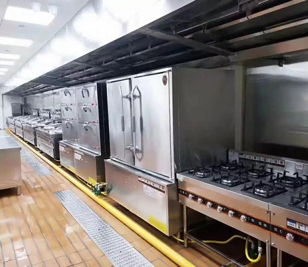 商业厨房设备的安装