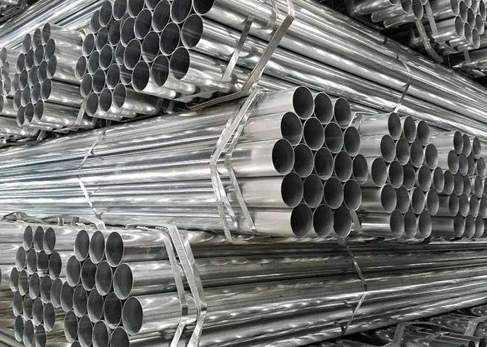 镀锌板带管