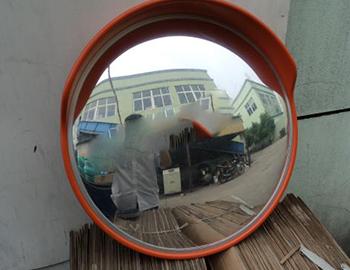 福州道路反面镜