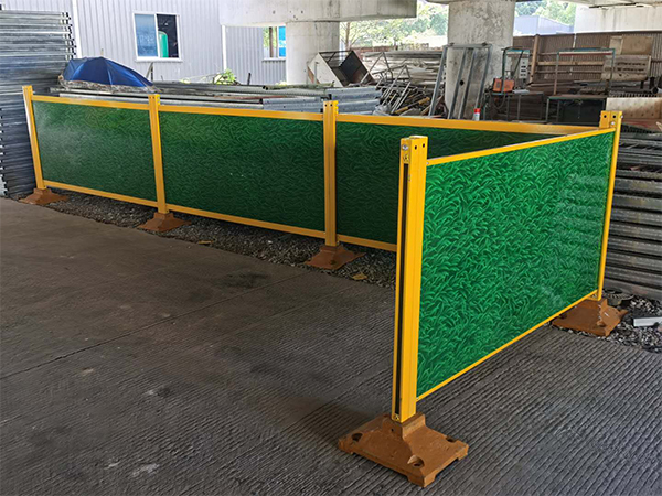 钢木复合型材围栏
