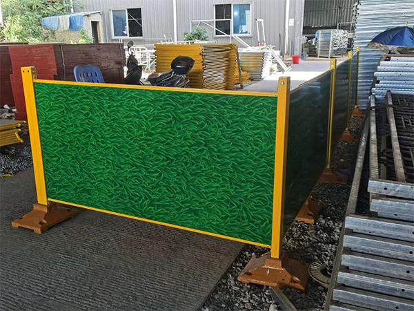 福州钢木复合板护栏