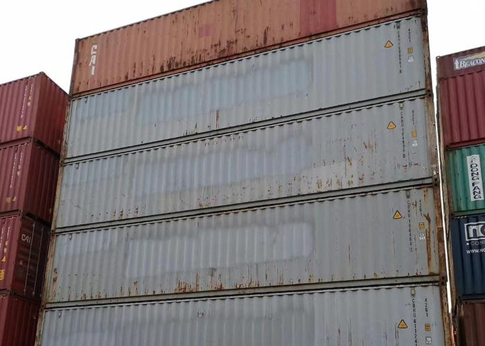 12米二手集装箱平柜