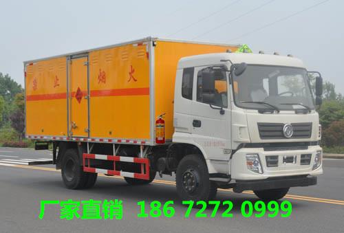 东风多利卡10吨腐蚀性物品厢式运输车整车配置