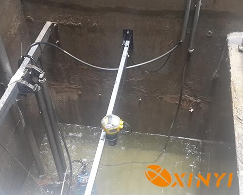福州地鐵滲水井超聲波液位計