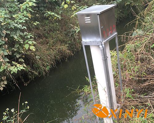 廣西省宜州市六坡水庫超聲波多普勒流量計