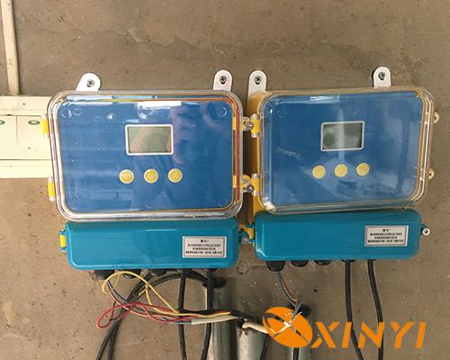 超聲波液位差計汙水處理廠應用現場