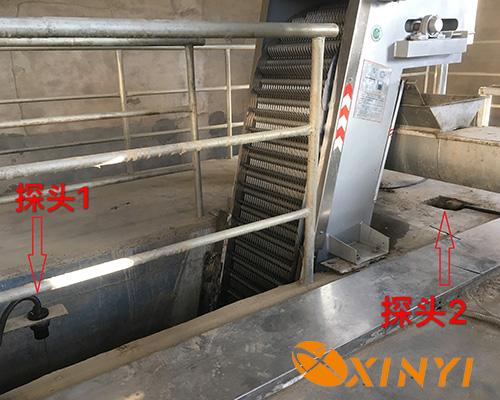超声波液位差计污水处理厂应用现场