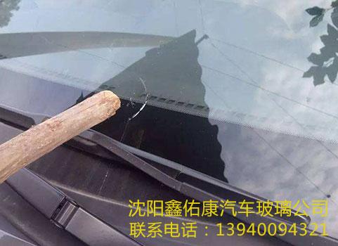 汽车玻璃裂痕修补