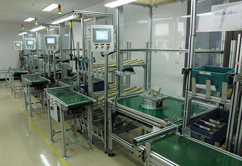 食品厂选用工业流水线