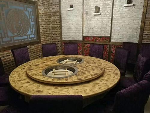 实木大锅台桌子