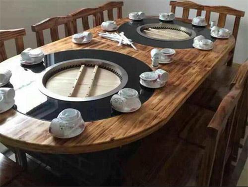 定制大锅台桌子特点