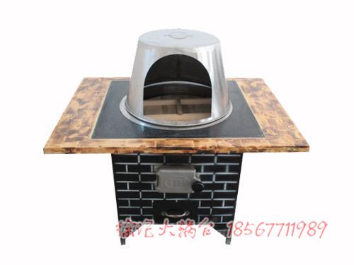 柴火铁锅炖桌子