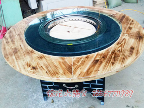 钢化玻璃台面的大锅台