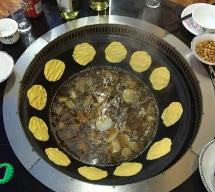 大锅台贴饼