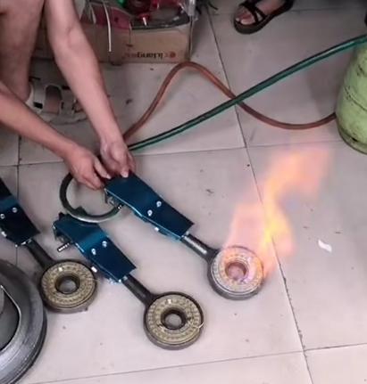 燃气型大锅台设备