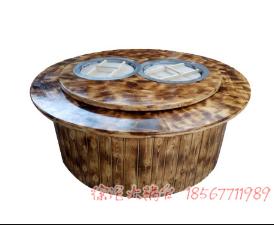 铁锅炖转桌侧排烟如何安装