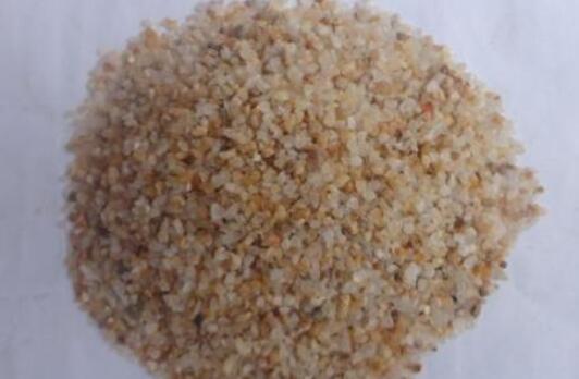 不规则颗粒石英砂与圆粒砂的区别