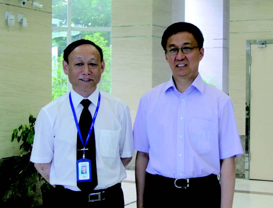 上海市市长韩正到晶澳公司调研