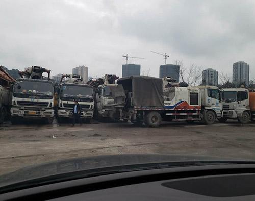 重庆车载式混凝土输送泵出租
