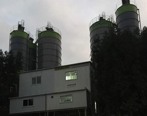 环保型混凝土搅拌站具有那些特性