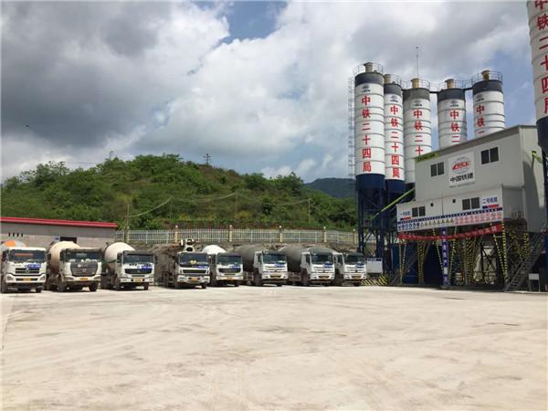重庆混凝土泵车租赁
