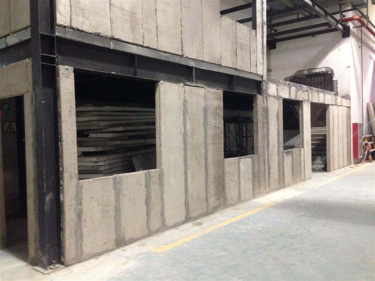 硅钙复合夹芯隔墙板