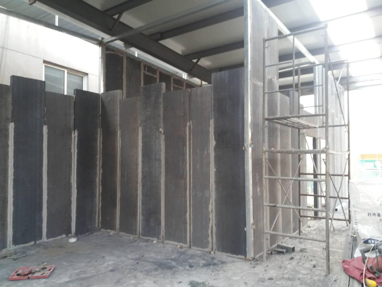 轻质隔墙板现场施工