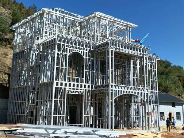 三层轻钢别墅工程