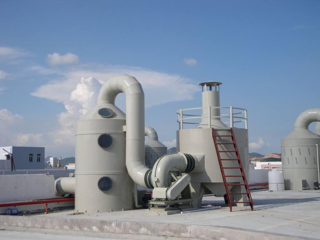 废气处理设备安装时需注意的问题