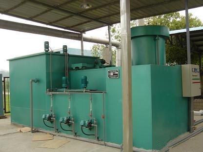 工业污水处理设备如何采用专利结构