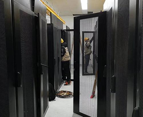 圖騰機柜安裝案例展示