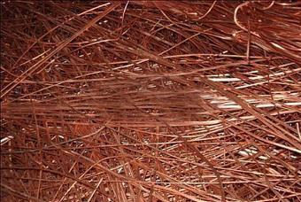 昆山废铜回收公司可将质量高的废铜直接熔炼成精铜或铜合金