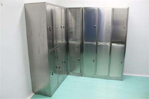 重庆洁净室不锈钢衣柜