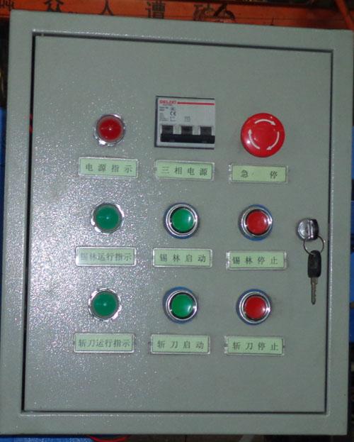 电机配电箱指示灯接线图